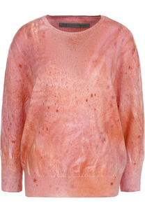 Пуловер с круглым вырезом и укороченными рукавами Raquel Allegra