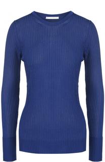 Пуловер фактурной вязки с круглым вырезом HUGO