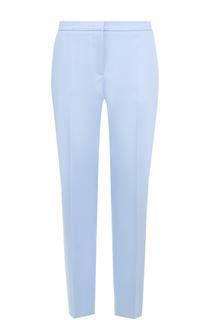 Укороченные брюки прямого кроя со стрелками HUGO