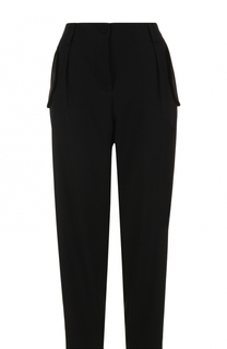 Укороченные брюки с защипами и карманами Escada