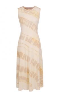 Приталенное платье с принтом Raquel Allegra