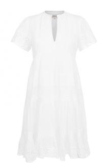 Кружевное мини-платье с завышенной талией Denim&Supply by Ralph Lauren