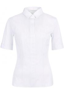 Приталенная блуза с укороченным рукавом HUGO