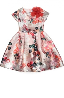 Платье с цветочным принтом Simonetta