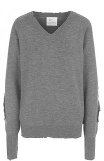 Пуловер свободного кроя с V-образным вырезом Hillier Bartley