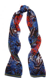 Шелковый платок с принтом Givenchy