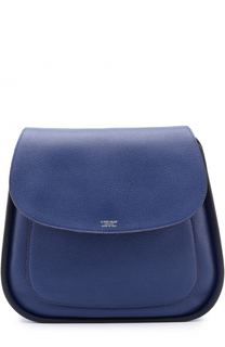 Кожаная сумка с клапаном Giorgio Armani