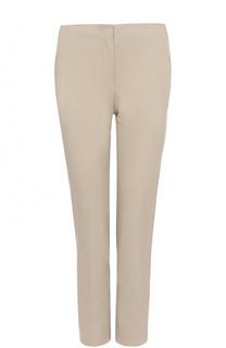 Укороченные брюки прямого кроя со стрелками Armani Collezioni