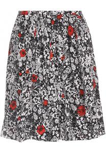 Мини-юбка с цветочным принтом и карманами Zadig&Voltaire Zadig&Voltaire