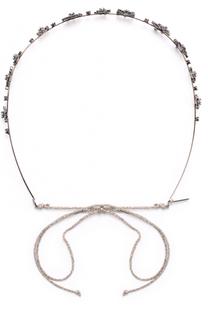 Повязка для волос с кристаллами Swarovski Jennifer Behr