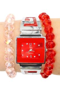 Набор: часы, браслет-2шт Taya