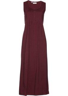 Трикотажное платье (темно-бордовый) Bonprix