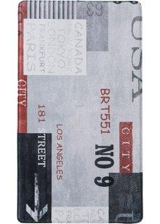 Коврик для ванной Марк из пены-мемори (серый) Bonprix