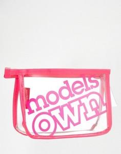 Маленькая косметичка Models Own - Бесцветный