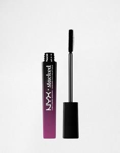 Тушь для ресниц NYX Professional Make-Up - Lush Lashes - Stacked - Черный