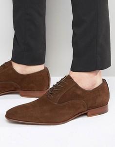 Замшевые оксфордские туфли ALDO Gwidol - Коричневый