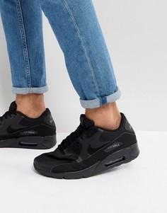 Черные кроссовки Nike Air Max 90 Ultra 2.0 875695-002 - Черный
