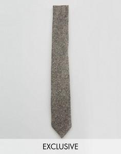 Галстук в крапинку Noak - Серый