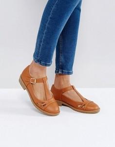 Туфли на плоской подошве ASOS MAYBELL - Рыжий
