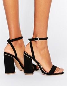 Босоножки на высоком каблуке ASOS HAMPSTEAD - Черный
