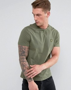 Зеленая футболка Lyle & Scott - Зеленый