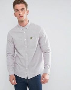 Белая рубашка в клетку Lyle & Scott Tattersal - Белый