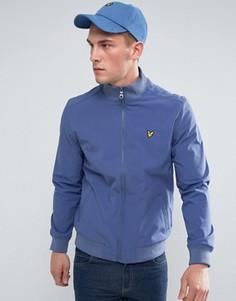 Синяя мягкая куртка Lyle & Scott - Синий