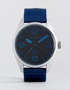 Часы с темно-синим нейлоновым ремешком Racing Green - Темно-синий