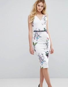 Платье с бантиками Ted Baker - Белый