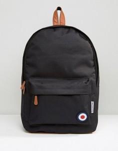 Черный рюкзак с отделкой в виде мишени Lambretta - Черный
