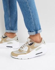 Бежевые кроссовки Nike Air Max 90 Ultra 2.0 875695-005 - Бежевый