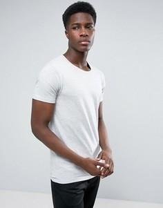 Серая футболка в белую полоску Lindbergh - Серый