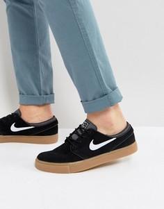 Черные кроссовки Nike SB Zoom Stefan Janoski 333824-021 - Черный