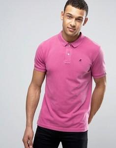 Футболка-поло с короткими рукавами и логотипом Replay - Розовый