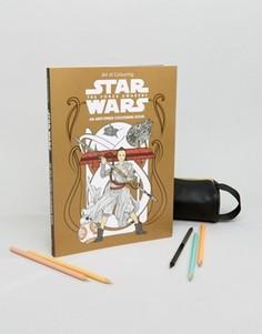 Раскраска Star Wars The Force Awakens - Мульти Books