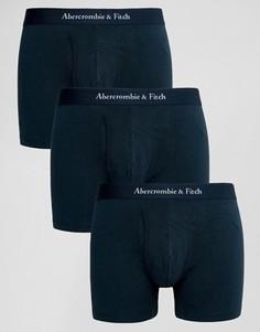 3 пары боксеров-брифов Abercrombie & Fitch - Темно-синий