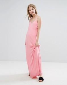 Платье макси Vila - Розовый