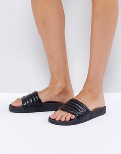 Черные сандалии Slydes Port - Черный