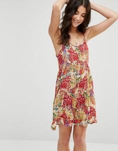 Платье с ремешками Raga Birds of Paradise - Мульти