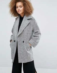 Пальто (цвет слоновой кости / черный) Helene Berman Tessa - Белый