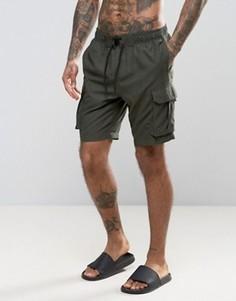 Классические шорты-карго для плавания Bravesoul - Зеленый