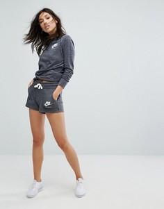 Серые трикотажные шорты Nike Vintage - Мульти