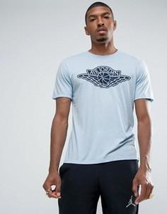 Синяя футболка с логотипом Nike Jordan Iconic Wings 834476-458 - Синий