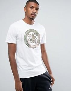 Белая футболка с карманом Nike Jordan Pure Money 844290-100 - Белый