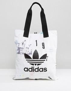 Сумка с принтом adidas Originals - Мульти