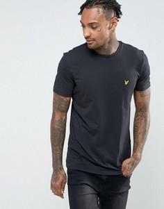 Черная футболка с логотипом Lyle & Scott - Черный