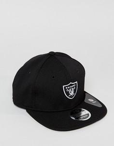 Бейсболка New Era 9Fifty Oakland Raiders - Черный