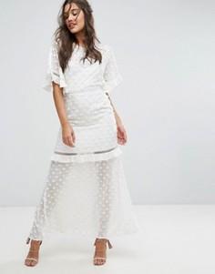 Платье макси Stevie May - Белый