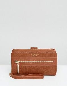 Светло-коричневый кошелек на молнии Fiorelli Abbey - Рыжий