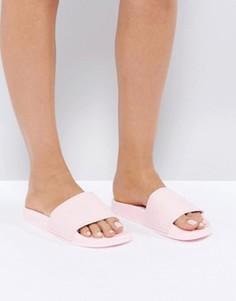 Розовые сандалии с логотипом Slydes Cali - Розовый